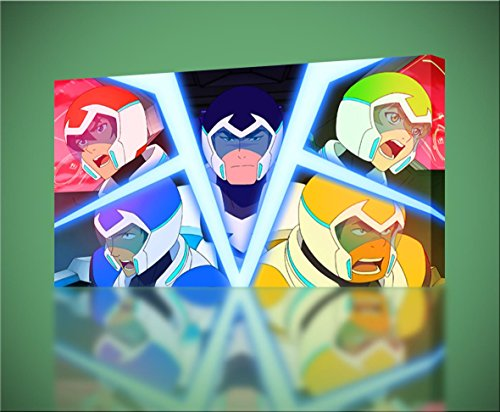 Voltron Legendary Defender TV Show Poster Glossy Finish Posters USA TVS441