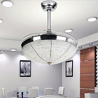 RS Iluminación LED ventilador de techo con luz ventilador de ...