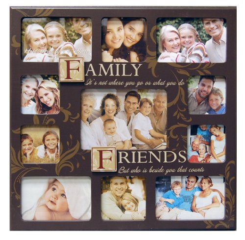 Amazoncom Haven Familyfriends Sentiment Stamp Collage Frame