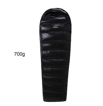 4 estaciones de pato saco de dormir adultos portátil ultraligero impermeable al aire libre (700g-1500g relleno) , black , 700: Amazon.es: Deportes y aire ...