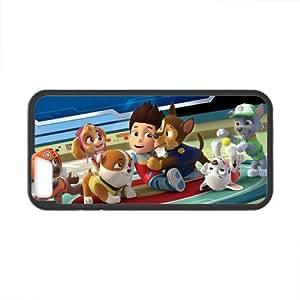 Onshop Custom Cartoon Pattern Paw Patrol Phone Case Laser Technology for iPhone 6 4.7 Inch