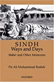 img - for Sindh: Ways and Days: A Medley of Memories, Hunting, and Sporting book / textbook / text book