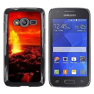 TopCaseStore / la caja del caucho duro de la cubierta de protección de la piel - Space Planet Galaxy Stars 10 - Samsung Galaxy Ace 4 G313 SM-G313F
