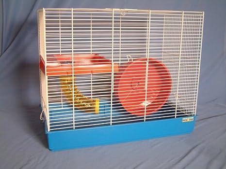 Pennine Jaula de ratas con rueda y suelo (23 x 12 x 18 Ht): Amazon ...