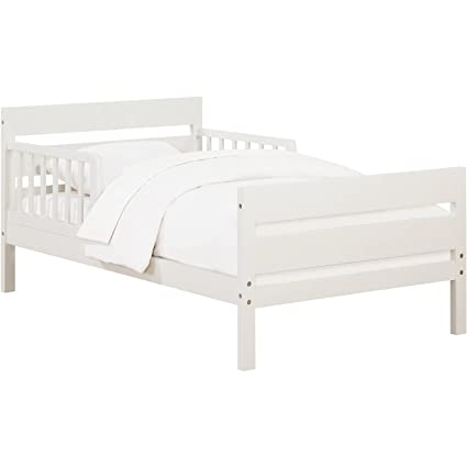 Amazon Com Toddler Bed Low Profile Structure Fully Slatted Bed