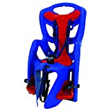 Bellelli Pepe Bike Rack Mounted Baby Carrier, Blue/Red