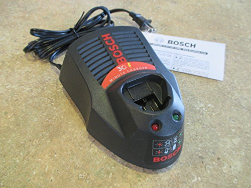 Bosch BC430 Lithium-Ion 30-Minute Charger For Bosch 10.8-Volt and 12-Volt Batteries (Bosch Drill Battery Charger compare prices)