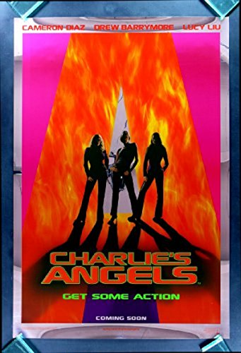 Charlie's Angels 2000 D/S Mylar Rolled Movie Poster 27x40 (Best Angel Investor Sites)