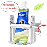 Fabcell Toothpaste Tube Squeezer Dispenser – Metal Tube Squeezer for Tooth Paste/Paint Tube/Cosmetics/Color Dye/Hand Cream/Artist/Hair Salon/Painter