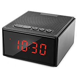 Waterproof Bluetooth Speaker with Alarm Clock FM Radio,Hcman Portable Wireless 8W Smart Speaker with HD Sound and Bass,Hands Free Phone Calling Mic,Micro TF Slot,10H Playtime for iPhone,iPad,Samsung