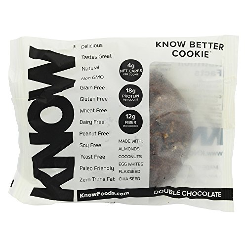 Know Better Foods   Gluten Free Cookie Double Chocolate   4 Oz