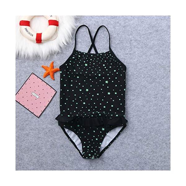Innerternet Costumi da Bagno Interi da Ragazzo, Bikini Stampa a Stelle Bambina, Brasiliana Slip Perizoma Bimba, Mini… 2 spesavip