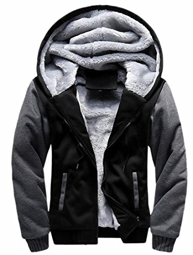 Winter Thick UK Wool Jacket today Mens Contrast Color 4 Coats Warm Hoodies 8wHaXq
