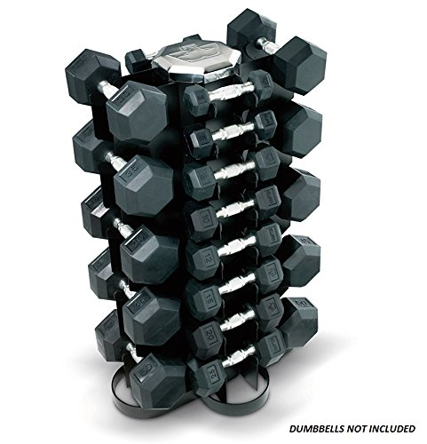 Hampton Four-Sided Vertical Rack - Holds 13 pairs