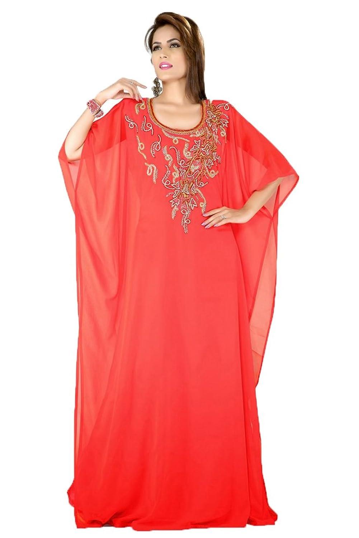 PalasFashion Arabian Style Jalabiya Kaftan Dress Women's KKPF17097