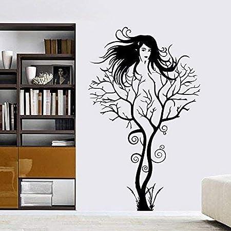 Amazon.com: homefind Negro Vides florales flores arte ...