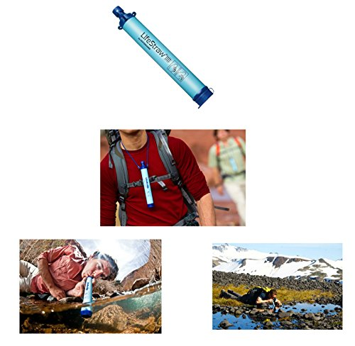 Wise-Company-5-Day-Emergency-Bug-Out-Backpack-Red-With-Food-Rations-Drinking-WaterFirst-Aid-Kit-Stove-Blanket-Poncho-More-LifeStraw-Personal-Water-Filter-Ultimate-Arms-Gear-Survival-Set