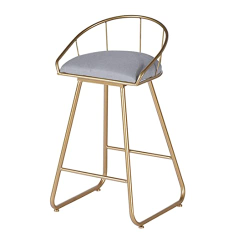 Amazon.com: Taburete de metal resistente con asiento ...