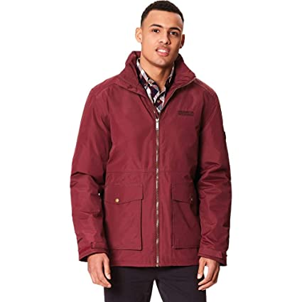 Regatta Hebson Waterproof Thermoguard Insulated Hooded Chaqueta, Hombre