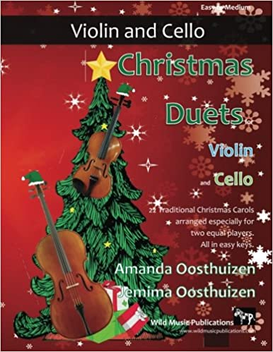 Christmas Violin.Christmas Duets For Violin And Cello 22 Traditional