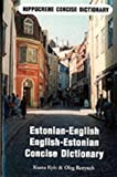 Front cover for the book Estonian-English English-Estonian Dictionary (Hippocrene Concise Dictionary) by Ksana Kyiv