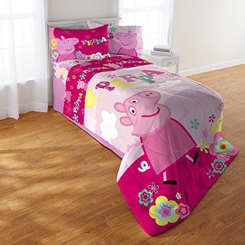 Price comparison product image Peppa Pig Tweet Tweet Oink 4 Piece Comforter Set by Franco
