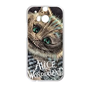 Happy Alice In Wonderland Cell Phone Case for HTC One M8