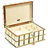Bello Collezioni - Martinelli Luxury Italian Made Wooden Mens/Womens Jewelry Box