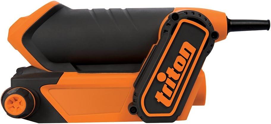 3 pzas Bandas de lija para lijadora de banda compacta Triton Triton 928545 TCMBSFPK Bandas de lija grano 80//100//120, 3 pzas