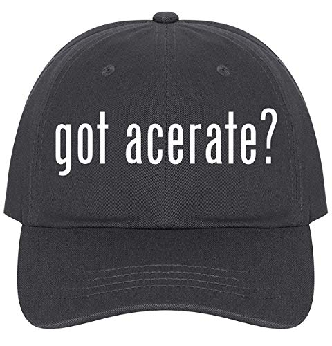 The Town Butler got Acerate? - A Nice Comfortable Adjustable Dad Hat Cap, Dark Grey