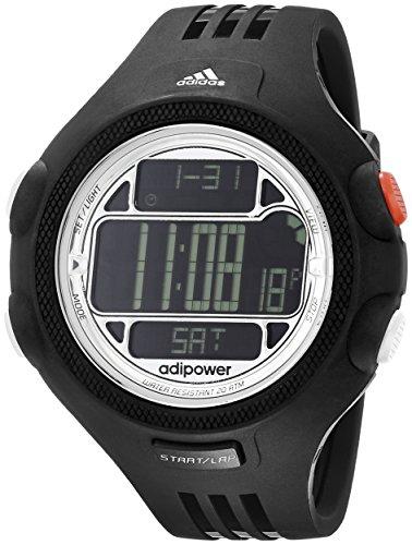 adidas Unisex ADP3130 Black Digital Watch with Polyurethane Band