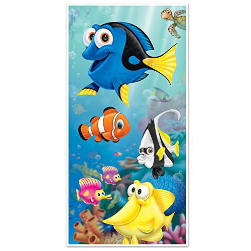Beistle 59845 Under The Sea Door Cover, 30