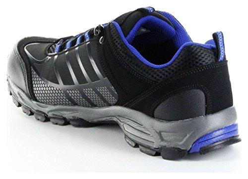 ConWay Sportschuhe schwarz blau Softshell CONTEX Herren