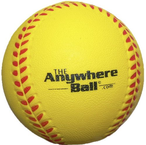 The Anywhere Ball Baseball/Softball Foam Training Ball (12 Pack) (Indoor Softball)