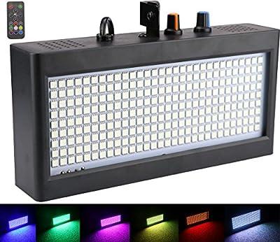 270 LED Strobe Lights Mini, Latta Alvor Stage Light for Parties DJ Lighting KTV Flashing Color Strobe Lights Romote control from LattaAlvor