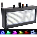 270 LED Strobe Lights Mini, Latta Alvor Stage Light for Parties DJ Lighting KTV Flashing 7 Colors Strobe Lights Romote control (color light)