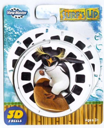 Surf's Up - latest movie - ViewMaster 3 Reel Set by 3Dstereo ViewMaster