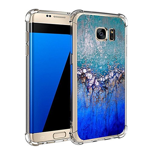 Price comparison product image Beryerbi Samsung galaxy s6 edge Plus Case Super Slim Anti-Scrape Air Cushion Technology Protective Cover Marble Pattern (6, galaxy s6 edge)