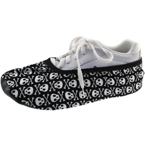 Skulls Shoe Covers by Master (Medium) (Covers Master Shoe)