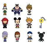 Kingdom Hearts 3-D Figural Key Chain 6-Pack