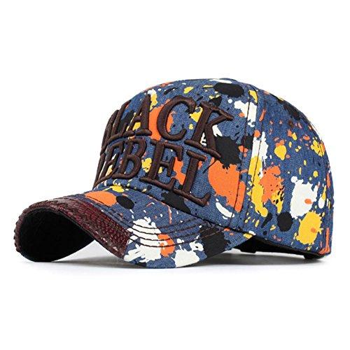 AxiEr Snapback Unisex Hat Hip Hop Plaid Flat Brim Adjustable Baseball Cap