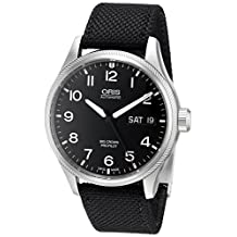 Oris Men's 75276984164LS Big Crown Analog Display Swiss Automatic Black Watch