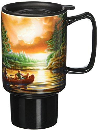LANG - 18Oz Ceramic Travel Mug -
