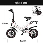 OUXI-V5-Biciclette-elettriche-per-Adulti-Bici-Pieghevoli-per-Donna-Uomo-con-Batteria-400W-10Ah-15Ah-48v-14-Pollici-velocita-Massima-25-kmh-Adatto-per-spostamenti-Urbani-Sportivi