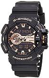 Casio Men's G-Shock GA400GB-1A4 Black Plastic Quartz Sport Watch