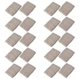 Mallofusa 10 Pack Colorful Sports Basketball Football Absorbent Wristband Party Outdoor Activity (Gray)