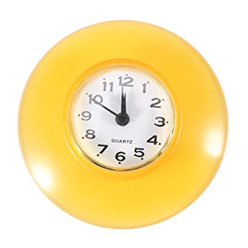 No-tictac Silent Wall Clock - Reloj Digital de Cuarzo Impermeable Mini Cute Design Cuarto