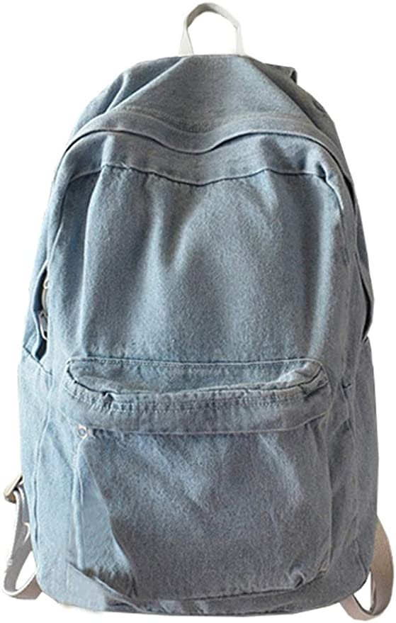 backpack for teenagers,Large Bag Japanese Bag,black denim Denim Backpack,Mens Backpack unisex backpack Backpack for a boy,Teen backpack