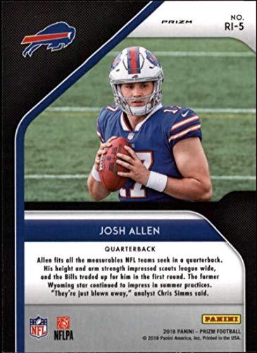 Amazon.com  2018 Panini Prizm Rookie Introduction Prizm  5 Josh Allen  Buffalo Bills RC Rookie NFL Football Trading Card  Collectibles   Fine Art fec86d90b