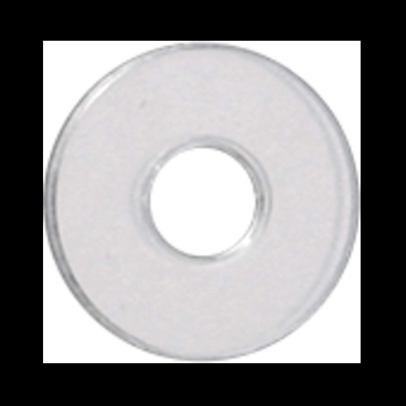 Crl 34 Clear Vinyl Replacement Washer For 34 Standoff Cap